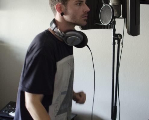 shot in the home studio